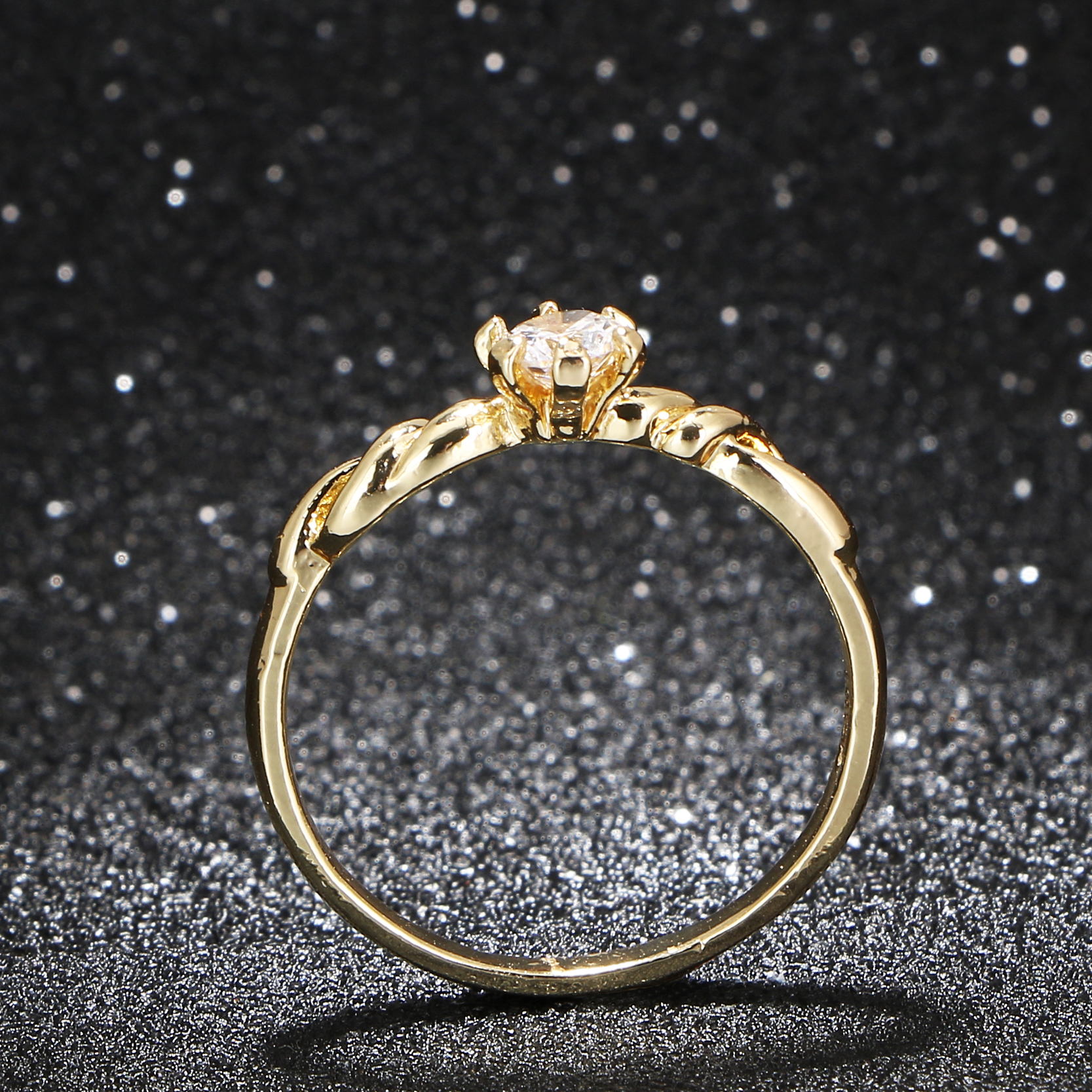 Unique Design Twist Gold Plated Finger Ring Crystal. Cad Wedding Rings. Antique Engagement Rings. Pierced Wedding Rings. Round Blue Wedding Rings. 10k Gold Rings. Illusion Rings. Six Engagement Rings. Metal Wedding Rings